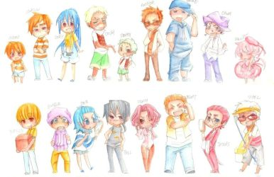 Finding Nemo human all chara? by marsbarrl