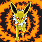 Jolteon used Firespin? by SasheraDesigns