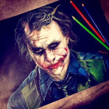 Joker Fanart by thefrenchberet