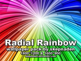Radial Rainbow by skepnaden