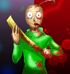 Baldi fusion happy and angry by IroniaDevil