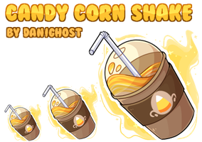 Candy Corn Shake (Redraw) by DominickLuhr