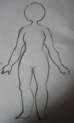 human (female) body - final piece by jujunumber101