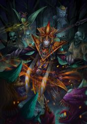 The Ancient Wizard by sifterone