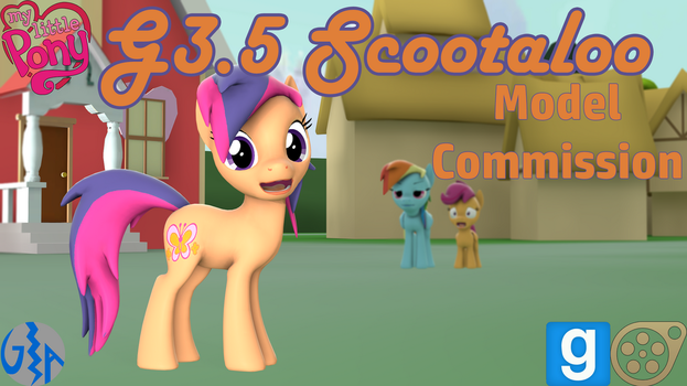 Scootaloo (MLP G3.5 SFM/GMod DL) Commission by GameAct3