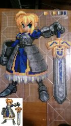 Fate Stay/Night Saber Complete - Not Ironed. by MaraVWGolf