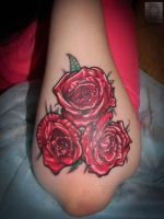 roses by ABYSS-TAT-2S