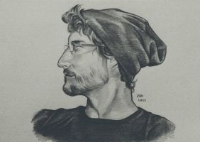 Tyler Profile Sketch by RamNieto
