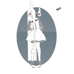 White Ghost [adopted] by: https://www.deviantart.c by Socky-the-Devi