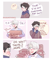 YOI: LOVE LETTERS by Randomsplashes