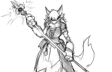 Mage Wuff by w4tsup