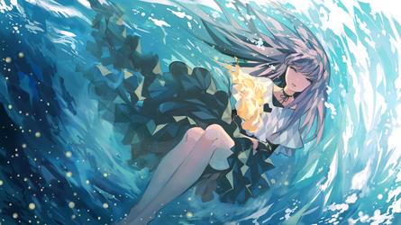 Dive (Music illustration) by Kanekiru