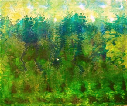2010 marbled landscape by Michael-Sherman