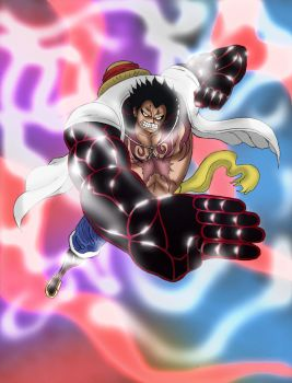 One Piece -- Gear 4th Luffy by Katong999