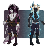 Dextro adopts: Fantasy Brothers CLOSED by Lunathyst