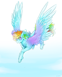 Shine like rainbow in the sky by PonetteDeFeu
