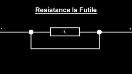 Resistance is Futile by MajorMagna