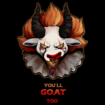 We All Goat Down Here by artwork-tee