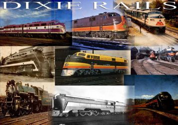 Dixie Rails by mrbill6ishere