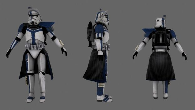 Imperial Arc Trooper by JakeGreen163