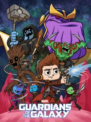 Guardians of the Galaxy by Erich0823