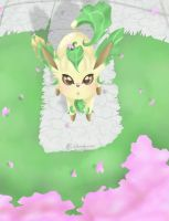 Leafeon [UPDATED] by LadyMalirra
