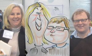 caricature- mom son 2010 by chrisCHUA