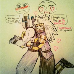 Thunder Ship, Yep... She Likes him.  by TFSU-Samano