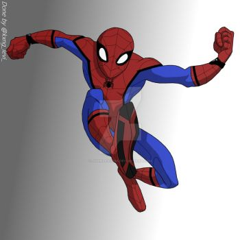 Spider-Man Homecoming2017 by JohnLevi1999