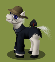 Jeepers Creepers Pony by Super-Zombie