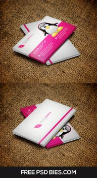 Corporate Business Card free Psd Template by Designhub719