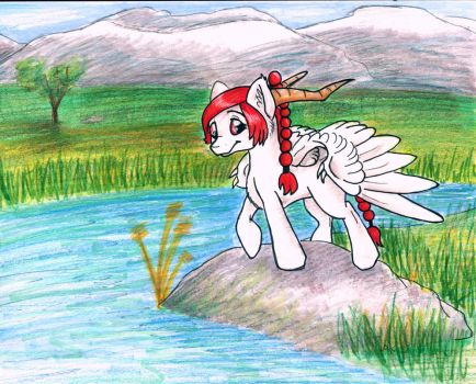 Across the Field by Psychodragoncat