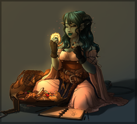 Critical Role: Pastry Cleric! by CaptainKato