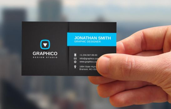 Stylish Corporate Business Card by nazdrag