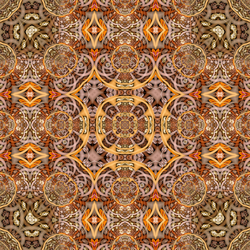 Synth Line Bubble Foci Ngon Mehdi Kaleidoscope by brookville