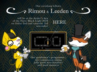 Where to find Rimou and Leeden at FBL 2018 by rimou