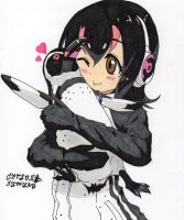 Grape-Kun y hulul by Uzu-sama