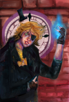BILL CIPHER by radiant-dreamer
