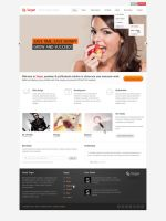 Target - psd template by Shegystudio