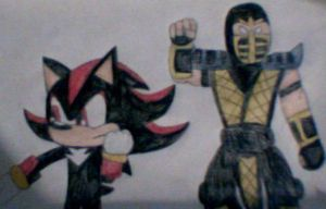 Shadow and Scorpion by MollyKetty