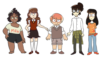 9lives Characters by Nifty-senpai