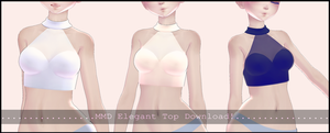 [MMD] Elegant Tops Download! by AyaneFoxey