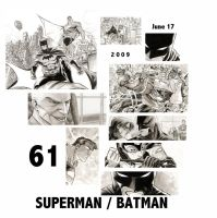 SUPERMAN BATMAN 61 preview by manapul