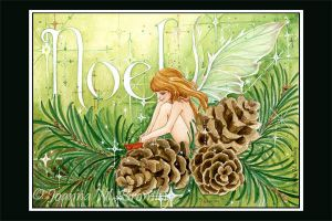 Green Noel Fae tra by JoannaBromley