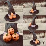 Witch Hat Sculpture by Dont-Trust-Dolls