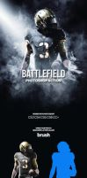 Battlefield Photoshop Action by GraphicAssets