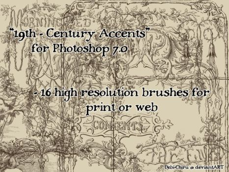 19th Century Accents by Cospigeon
