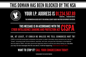 WARNING! This domain has been blocked by the NSA! by luvataciousskull