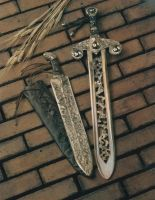 An Etruscan Gladius And Celtic Broadsword by nverrechia