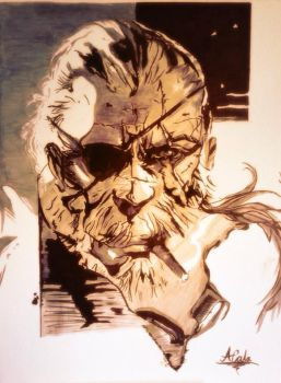 Big Boss - The Phantom Pain by Hawk-Eye-Aless
